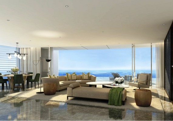 2 B/R Luxury Sea-Front Apartment | Limassol